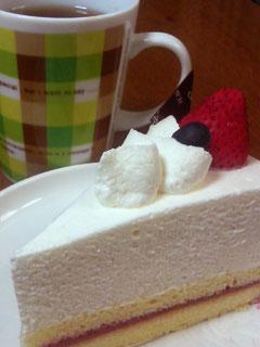 一人きりケーキ